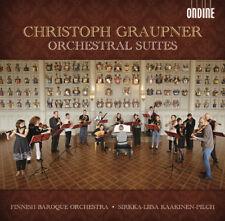 Christoph Graupner : Christoph Graupner: Orchestral Suites CD (2013) ***NEW***