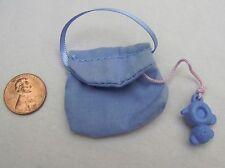 Rare FISHER PRICE Loving Family Dollhouse BLUE DIAPER BAG for INFANT NURSERY