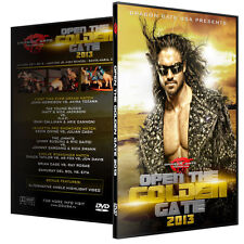 Dragon Gate USA Wrestling Open The Golen Gate 2013 DVD DGUSA John Morrison WWE
