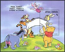 Antigua & Barbuda 1998 Disney/Winnie the Pooh/Cartoons/Animation/Bear m/s b3167