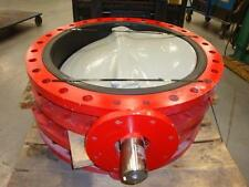 "NEW Bray 30"" Double Flanged Butterfly Valve"