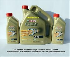 *aus Berlin Motoröl CASTROL EDGE Titanium FST Turbo Diesel 5W-40 7 Liter 5W40