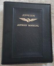 Jeppesen AIRWAY Manual nur der Lederordner
