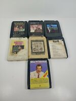 Vintage Lot Of 7 8 Track Cassette Tapes Waylon Jennings The Outlaw Charlie Pride