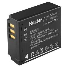 1x Kastar Battery for Panasonic Lumix CGA-S007 DMC-TZ1 DMC-TZ2 DMC-TZ3 DMC-TZ4