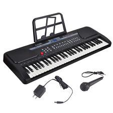61 Key Music Electronic Keyboard Electric Digital Piano Organ Black