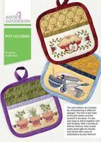 Pot Holders Anita Goodesign Embroidery Machine Design CD NEW