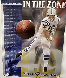 Peyton's 49 TD's. INDIANAPOLIS COLTS - In The Zone