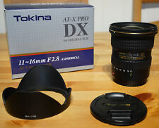 TOKINA 11-16mm F2.8 AT-X PRO DX ASPHERICAL LENS -FITS CANON EOS DIGITAL CAMERAS