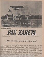 Pan Zareta - The Most Incredible Race Mare+Newman,Bowman