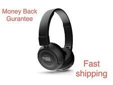 JBL BT Wireless Bluetooth On-ear Headphones T450- Black Guaranteed Quality