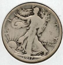Nice 1917 Walking Half Dollar Great Collector Coin Buy it Now Free Shipping