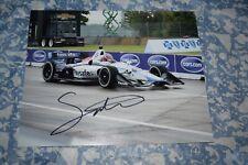 Santino Ferrucci Signed Autographed Indycar 2018 Rookie Race 8x10 photograph