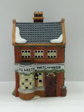 """Dept 56 Dickens Village """"Geo Weeton Watchmaker"""" 59269 Retired In Box"""