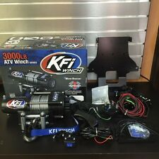 Honda Rincon 650 680 KFI 3000 lb Winch + Mount Kit 03-16 COMBO W REMOTE & ROCKER