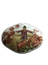 Vintage Royal Yarmouth Music Box Autumn Leaves Limited Edition