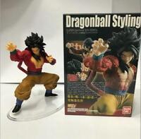 Japanese Anime Dragon Ball Super Saiyan 4 Son Goku Statue PVC Figure Model Doll