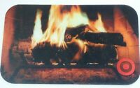 Target Gift Card Lenticular Christmas Fireplace - 2005 - No Value - I Combine