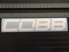 "COBB Tuning Decal | Logo Vinyl Die Cut Sticker Subaru WRX STI GTR ST 4"" to 15"""
