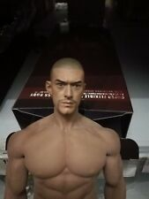 "1:6 Scale Takeshi Kaneshiro Beared Version Figure Head Model For 12"" Male Body"