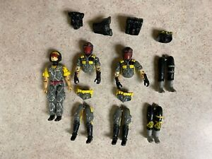 Vintage GI-JOE COBRA 1989 PYTHON PATROL Viper Troopers Parts Lot Body Parts LOT