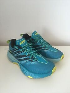 Hoka One One Womens Speedgoat 4  Running Shoes - UK Size 6.5 Blue