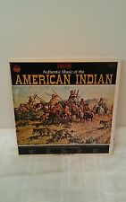 Authentic Music of the American Indian - Vintage Record Set (3) RARE SET