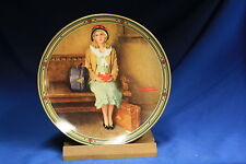 Knowles Collectors Plate~ Norman Rockwell: Young girls Dream~ Bradex 84-R70-7.1