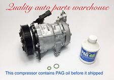 2002-2005 Jeep Liberty  3.7L (6 CYL) USA Reman. A/C Compressor W/1 year Warranty