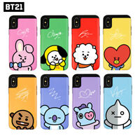 BTS BT21 Official Authentic Goods Card Bumper Case for iPhone / Galaxy