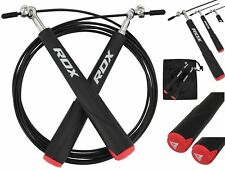RDX Skipping Rope Speed Cable 10ft Adjustable Fitness Gym Weight Loss Jumping