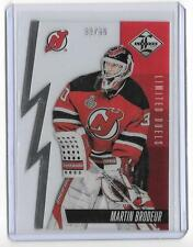 Martin Brodeur 2012/13 PANINI LIMITED DUELS #33/99