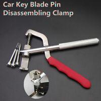 Car Key Blade Pin Disassembling Clamp Pilers Lock Tools Set Kit Universal