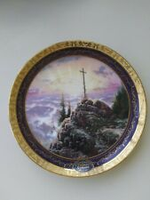 "Thomas Kincade Bradford Exchange 2000 Plate #17337A ""Sunrise"""