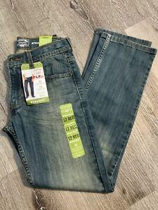 Signature Levi Strauss Gold Boys Jeans Size 12 Regular Strait Leg Adjustable New