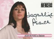 "The Women of Avengers : WAJP Jacqueline Pearce ""Marianne"" Binder Autograph Card"