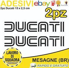 Adesivi Stickers DUCATI OLD panigale 848 1098 999 749 916 998 748 996 NERO BLACK