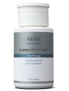 Obagi Clenziderm MD Pore Therapy Salicylic Acid 2% Acne Treatment 5 oz
