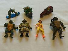 Lot of Assorted TEENAGE MUTANT NINJA TURTLES Toy Figures - Lot 2