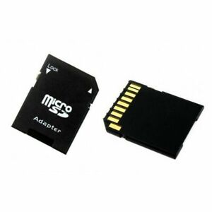 MICRO SD  MEMORY CARD ADAPTOR ADAPTER CONVERTER TO STANDARD SD