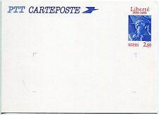 CARTE ENTIER POSTALE 2421 CP1 STATUE DE LA LIBERTE A NEW YORK