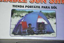 Rio Beach 9' Portable Sun Shelter with Zippered Mesh Window