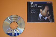 Mahler - Symphony No.4 / Dam-Jensen / Hirokami / Denon Mastersonic Japan 1996