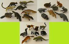 Waldtiere Wildtiere Zootiere 8er Spieltiere Spielzeug Tiere Tier Figur Figuren