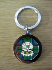 FORSYTH CLAN KEY RING (METAL) IMAGE DISTORTED TO PREVENT INTERNET THEFT