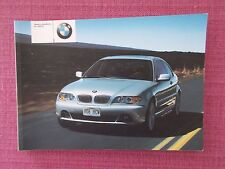 BMW 3 SERIES COUPE HANDBOOK - OWNERS MANUAL - USER GUIDE INCLUDES DIESELS BM 88