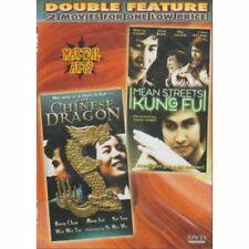 Chinese Dragon / Mean Streets Of Kung Fu Slim Case On DVD With Barry Chan D62
