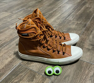 🔥NEW Converse Chuck Taylor Utility Hiking Trail All Star Brown Shoes Men Sz 9.5