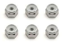 Team Associated 9834 Sc10 8-32 Aluminum Locknut Silver