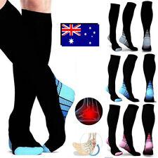 2018 15-35mmHg Medical Compression Socks Support Stockings Travel Flight Socks